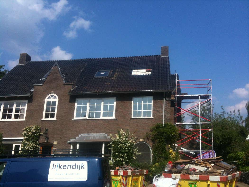 Plaatsen extra dakramen woning Wageningen