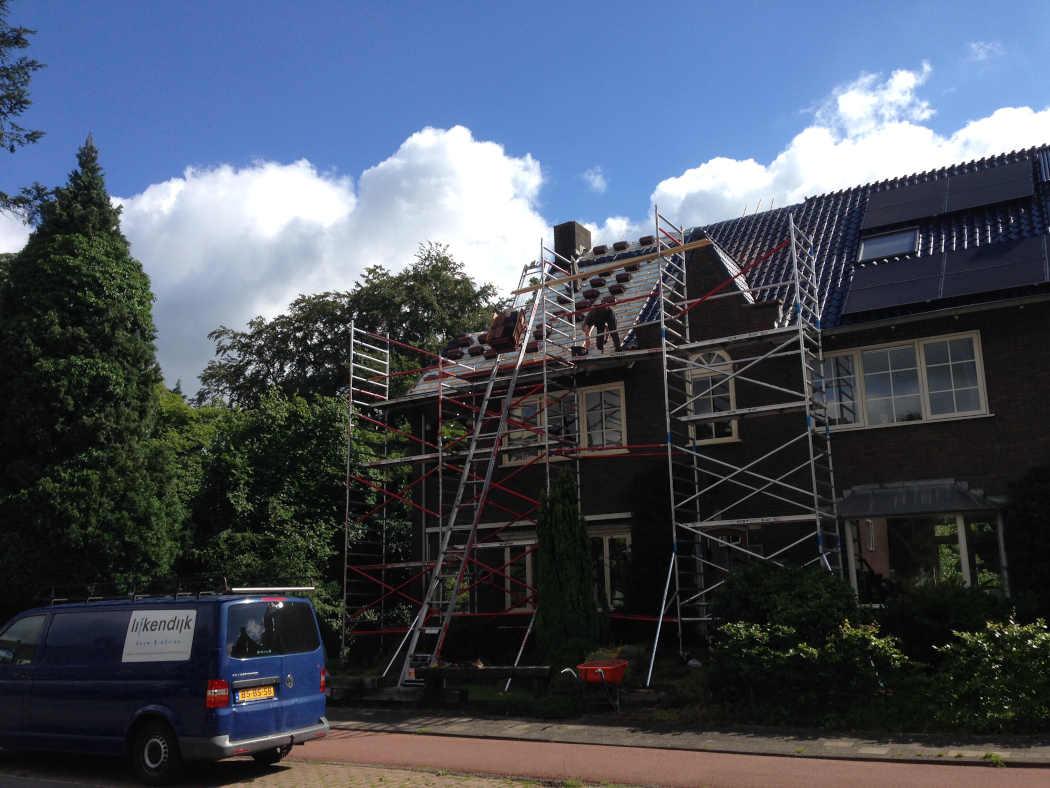 Project aanbouw en dakrenovatie Wageningen