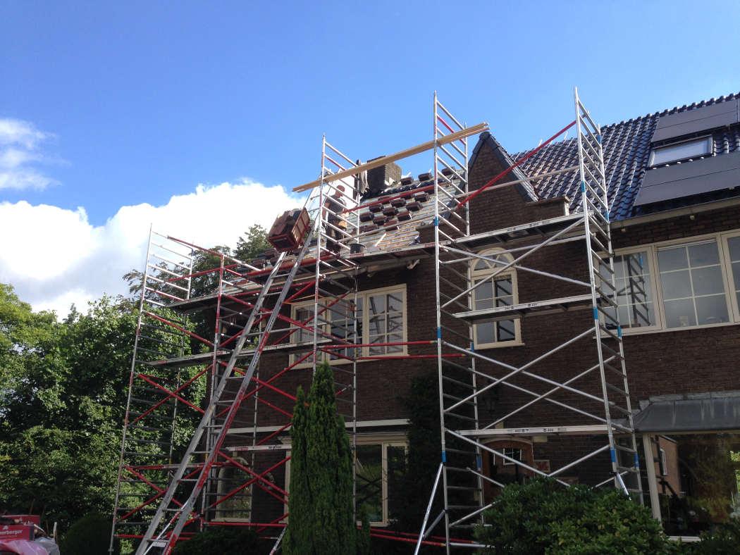 Renovatie dak van woning in Wageningen