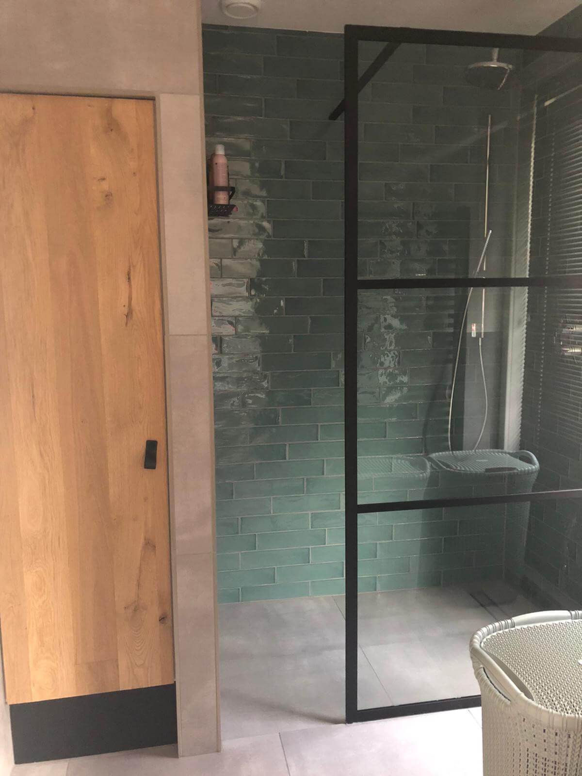 Luxe inloopdouche badkamer Zwolle